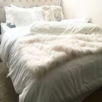 All White Bedding | Bedroom and Bedding | Pinterest | Faux ...
