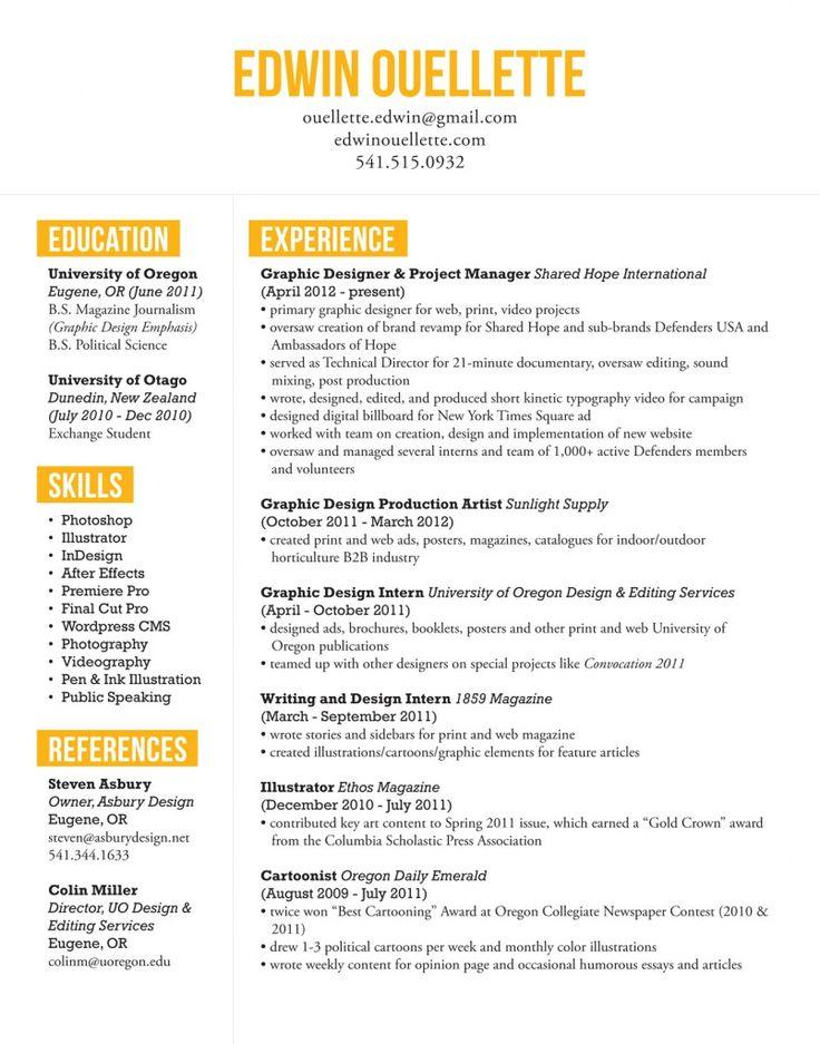 dop resume samples