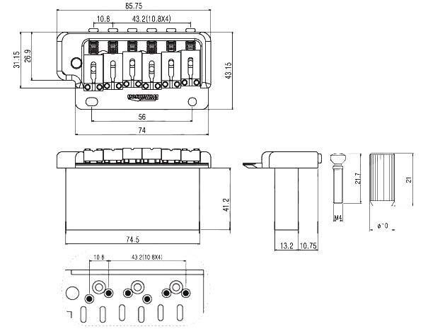 wiring diagrams ibanez guitars international dt466 engine diagram wilkinson wvp2 strat bridge tail body custom chrome | build - general pinterest ...