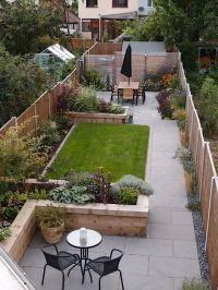 25+ best Narrow backyard ideas on Pinterest | Small garden ...