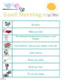 25+ best ideas about Kids morning routines on Pinterest ...