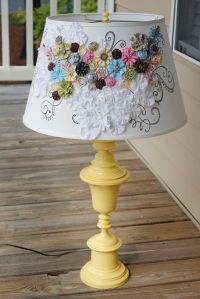 25+ best ideas about Decorate lampshade on Pinterest