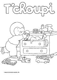19 best images about Coloriages T'choupi on Pinterest