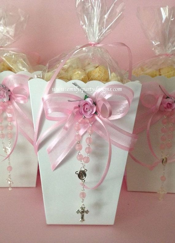 Popcorn Boxes Favor Baptism Favor First Communion Favor Wedding Favor Birthday Favor Price
