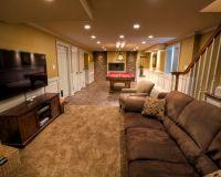 Basement Design Ideas For Long Narrow Living Rooms Design ...