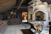 Interior of an old Swedish cottage | Natural Interior ...