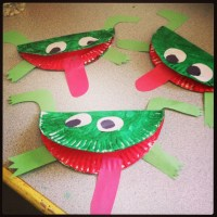 Frogs made out of paper plates | Arts&Crafts for Kids ...
