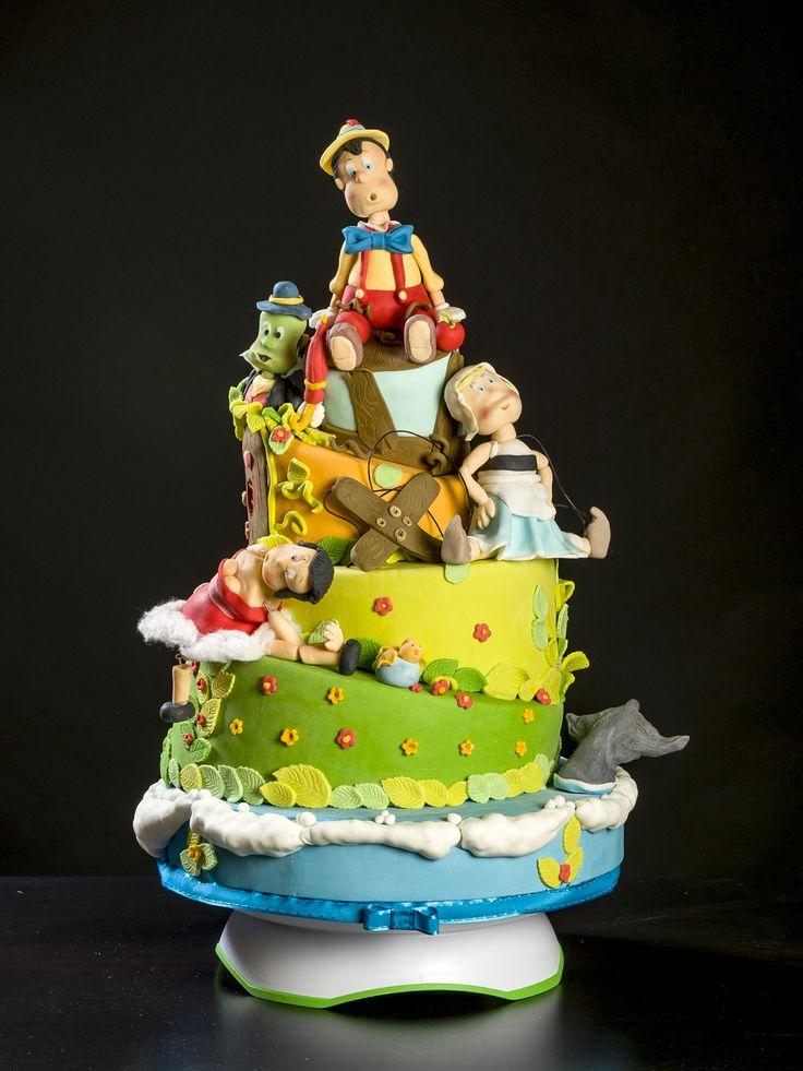 Pinocchio Pinocchio Cake Cakes Fun Themes