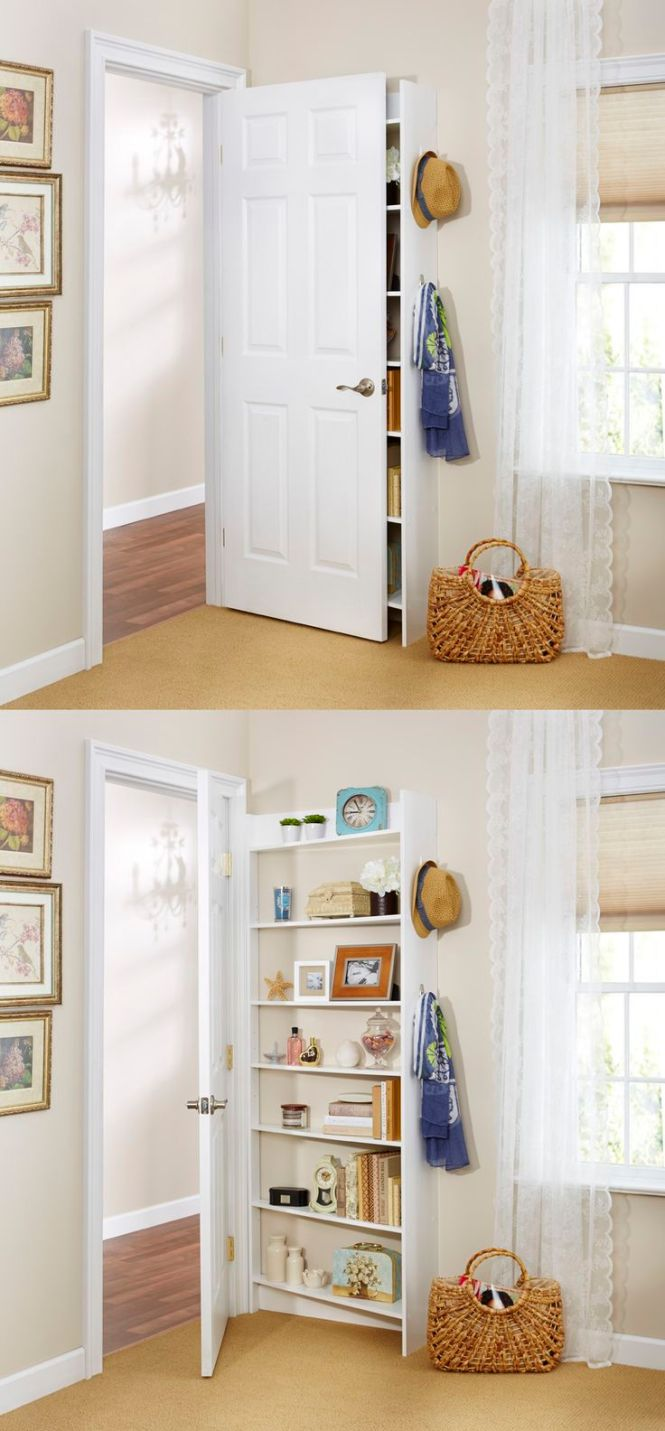 Hide Behind The Door Shelving System By Foremost Because It S Possible To Fit Extra Storage