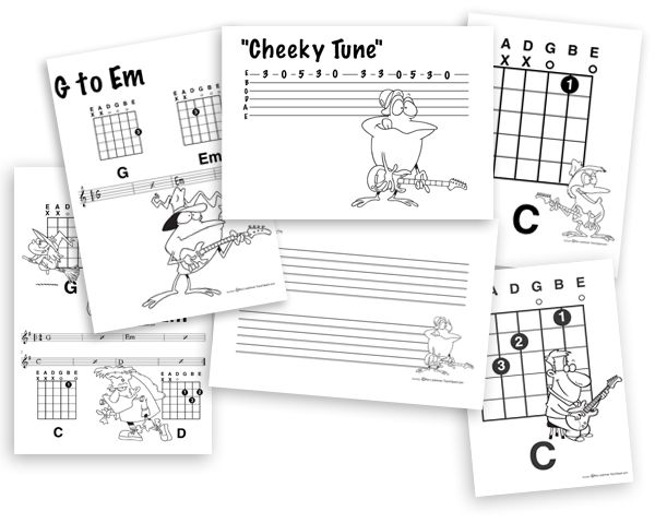 17 Best images about Teach! (Guitar) on Pinterest