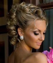 updo women and wedding