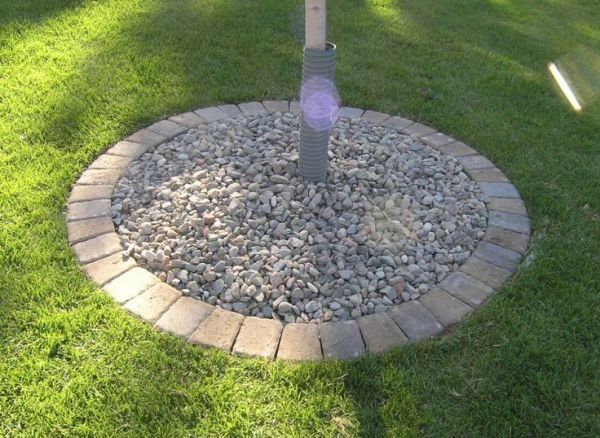 paver tree ring outdoor spaces