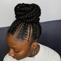 25+ best ideas about Goddess braids updo on Pinterest