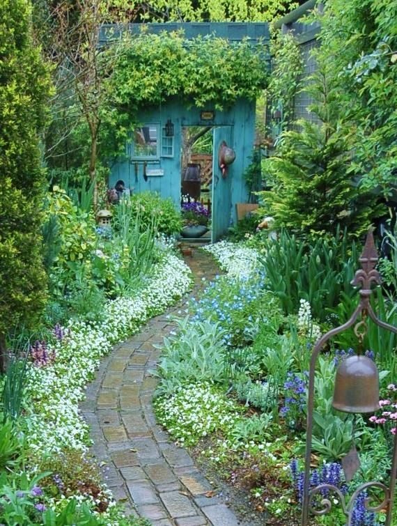 25 Best Ideas About Cottage Gardens On Pinterest Garden Design