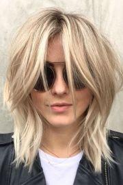 medium shaggy haircuts
