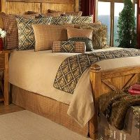 Spruce Pine Cone Bedding Sets is a coverlet ensemble that ...