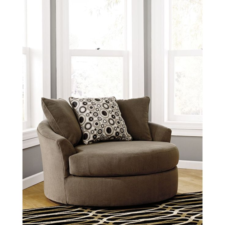 Roenik Oversized Swivel Accent Chair  Sams Club I need two of these to create my cozy sitting