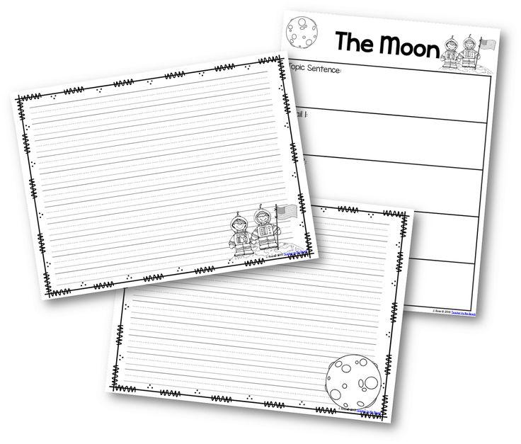 17 Best images about Moon Lesson Plans on Pinterest