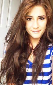long brown wavy hair fashion