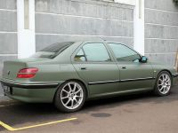 Peugeot 406 Car Vinyl Sticker Wrapping   Peugeot 406 Army ...