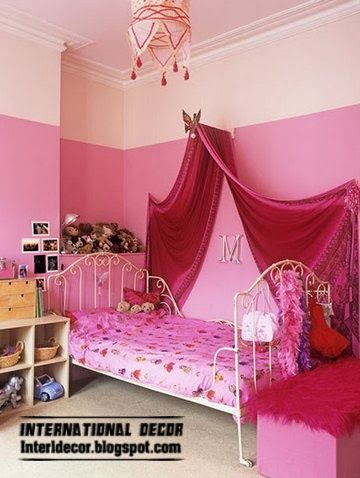 little girls pink bedroom with canopy bed 25+ best ideas about Girls canopy beds on Pinterest