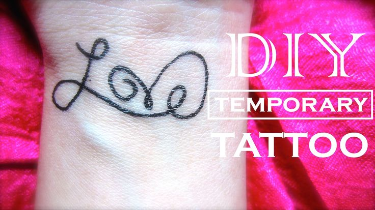 How to make a fake tattoo that looks real instead of a