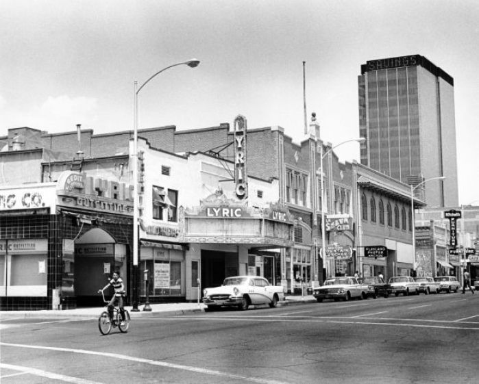 Downtown Tucson buildings in the late 1960s  Tucson