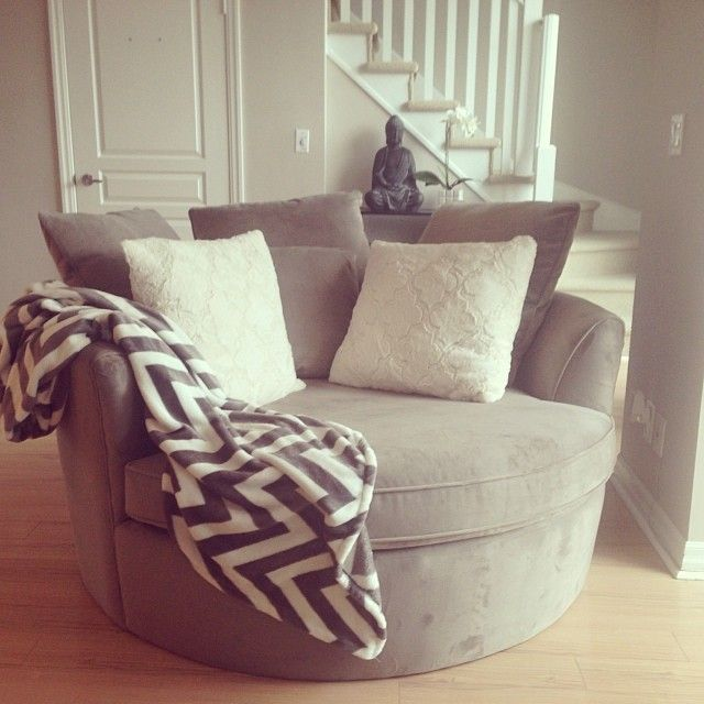 Urban Barn Nest Chair in my new condo  decor  Pinterest