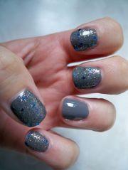 1000 ideas gray nail art