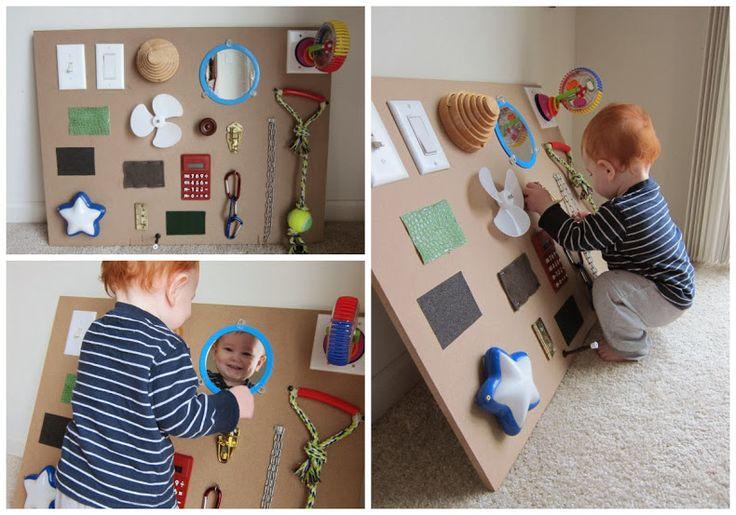 homemade baby sensory toys