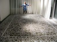 cheaper to do than the rug would cost and it won't be ...