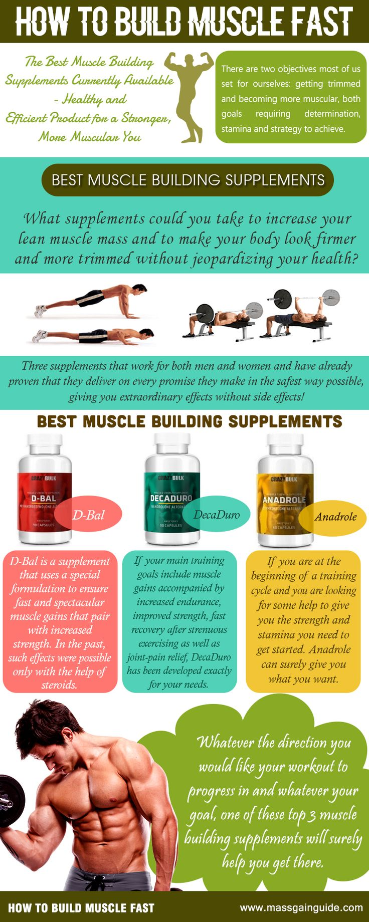 Best Workout Supplements Build Muscle