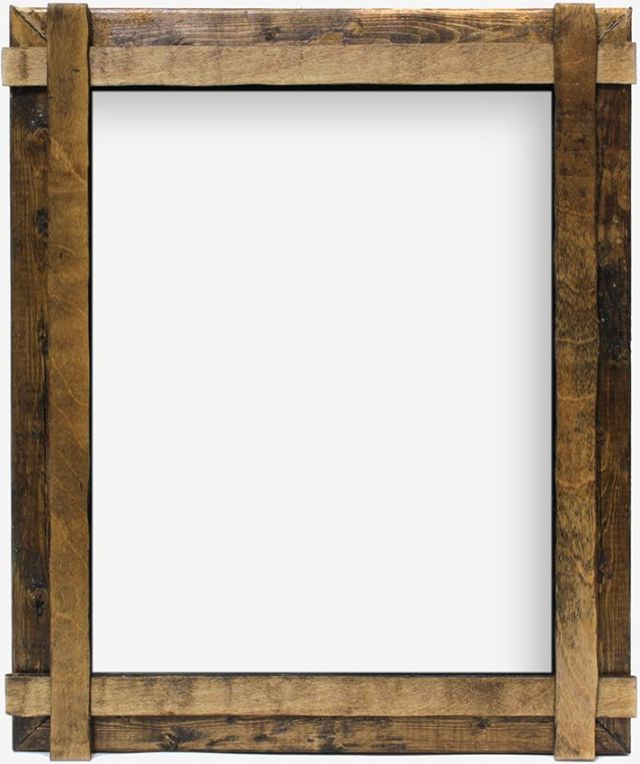 Wood frames, Rustic wood and Frames on Pinterest
