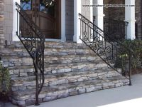 Residential Iron Railings - Raleigh Wrought Iron Co ...