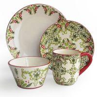 25+ best ideas about Christmas dinnerware on Pinterest ...
