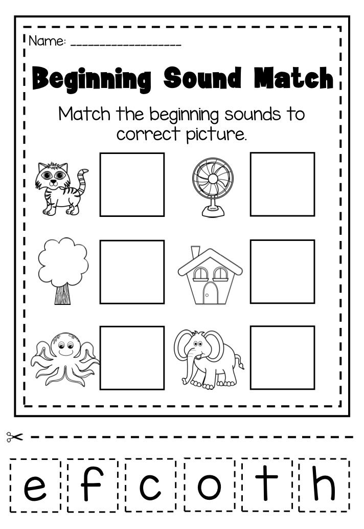 1000+ images about Pre-School Beginning Sound Worksheets