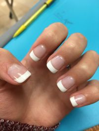 Best 25+ Gel nails french ideas on Pinterest | Glitter ...
