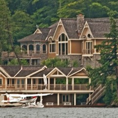 Floating Island Kitchen Special Designs Bev And Henks Cottage, Lake Joseph, Muskoka, Ontario, July ...