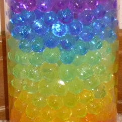 Teal Blue Chair Sashes Drafting Chairs Rainbow Layer Water Beads Hydrated Absorbing Gel, Magic Marble Crystal Orbeez For Plants And ...