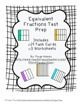 25+ best ideas about Fraction test on Pinterest
