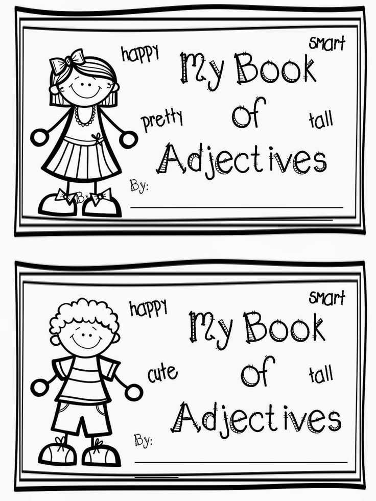 17 Best images about First Grade Adjectives on Pinterest