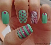 Pretty Pastels Nails | Nail nail, Design and Nail design
