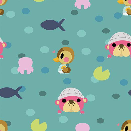 Fall Wallpaper Animal Crossing New Leaf Animal Crossing Cute Art Animal Crossing Water Pattern