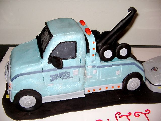 Tow Truck Cake Ideas Google Search Decorated Cakes