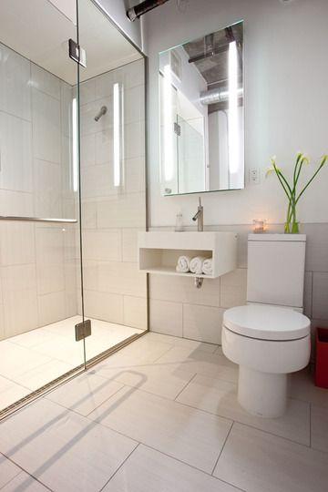 Best 25 Modern small bathrooms ideas on Pinterest  Small bathroom layout Tiny bathrooms and
