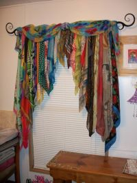 what to do with those old scarves | Repurposing clothes ...