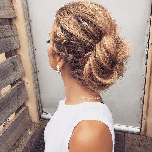 The 25 Best Low Bun Hairstyles Ideas On Pinterest Wedding Low
