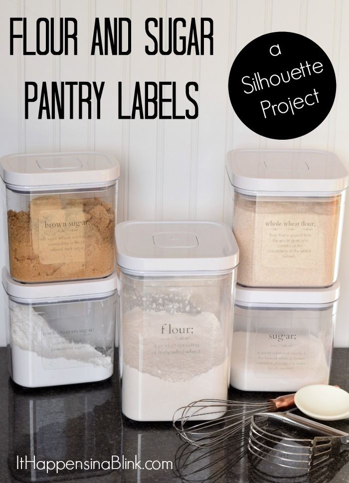 kitchen jar labels