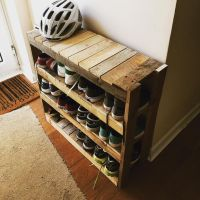 25+ best ideas about Shoe Rack Pallet on Pinterest