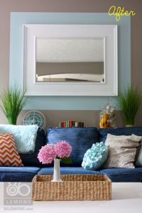 Color blocking your wall with paint. | Home improvement ...